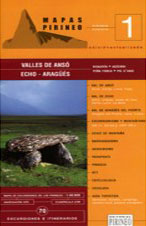 Vallés de Ansó - Echo - Aragües. 70 excursiones e itinerarios