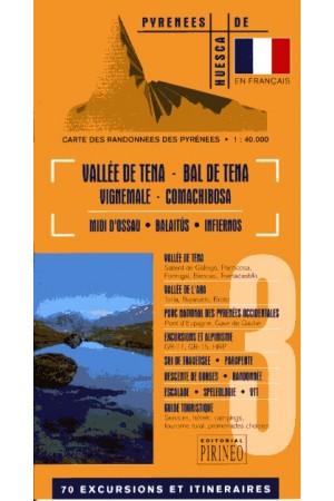 carte Vallée de Tena -Francés
