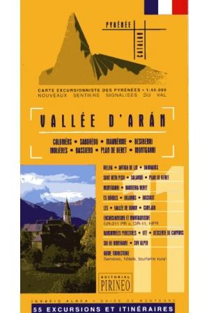 Carte Vallée d´Arán