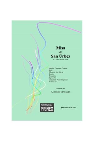 MISA DE SAN ÚRBEZ a 3 voces mixtas SAB