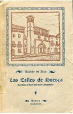 LAS CALLES DE HUESCA DE RICARDO DEL ARCO Y GARFAY