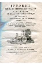 LEY AGRARIA DE JOVELLANOS (1795).