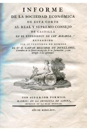 (1795) LEY AGRARIA DE JOVELLANOS