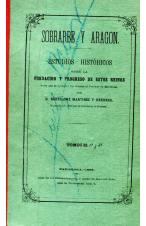 (1868) SOBRARBE Y ARAGÓN.ESTUDIOS HISTÓRICOS