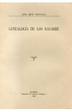 (1929) GENEALOGÍA DE LOS NASARRE DE LUIS MUR VENTURA