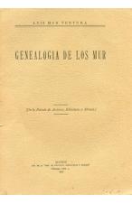 (1927) GENEALOGÍA DELOS MUR