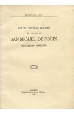 (1932) NUEVAS PINTURAS MURALES EN LA IGLESIA DE SAN MIGUEL DE FOCES DE RICARDO DEL ARCO