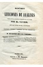 (1850) RESUMEN DE LAS LECCIONES DE ANALIS