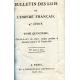 (18129 BULLETIN DES LOIS DE L´EMPIRE FRANCAIS