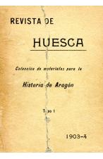 (1903) REVISTA DE ATAGÓN OCTUBRE