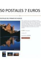 50 POSTALES DEL PIRINEO DE HUESCA 7 EUROS
